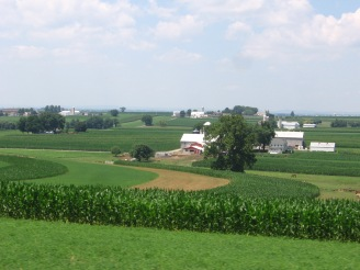 Amish farms